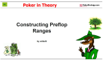 Poker in Theory: Constructing Preflop Ranges (1)